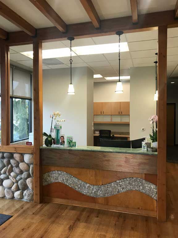 Reception Area at Riverstone Family Dentistry